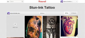 Stun-Ink Tattoos - Pinterest Board